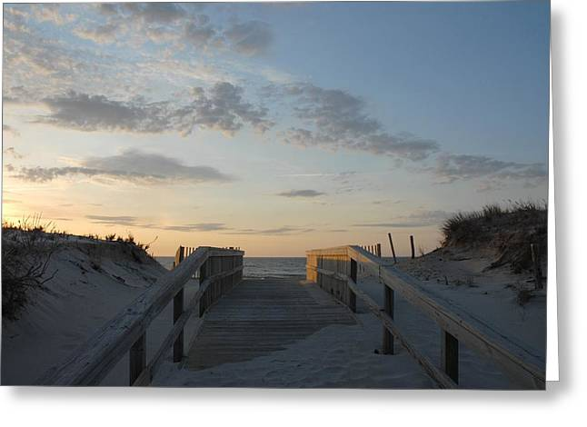Playing Cards Greeting Cards - Dunes 80 Greeting Card by Joyce StJames
