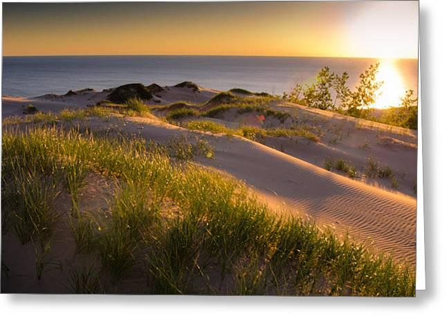 Sand Photography Greeting Cards - Dunes Greeting Card by Jason Naudi Photography
