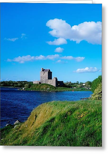 The Hills Greeting Cards - Dunguaire Castle, Co Galway, Ireland Greeting Card by The Irish Image Collection