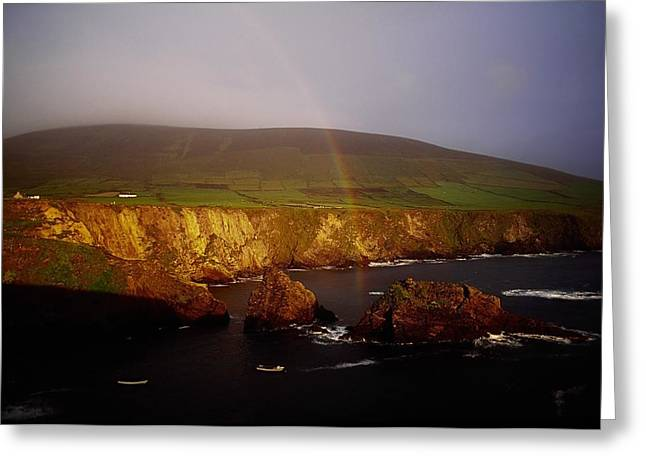 Dunquin Harbour, Dingle Peninsula,co Greeting Card by The Irish Image Collection