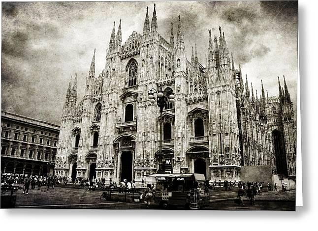 Milano Greeting Cards - Duomo di Milano Greeting Card by Laura Melis