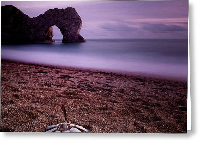 Gb Greeting Cards - Durdle Door Greeting Card by Nina Papiorek
