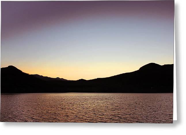 Sea Of Cortez Greeting Cards - Dusk in Baja Greeting Card by Russ Harris