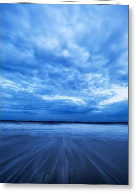 York Beach Greeting Cards - Dusk on Fire Island II Greeting Card by Rick Berk
