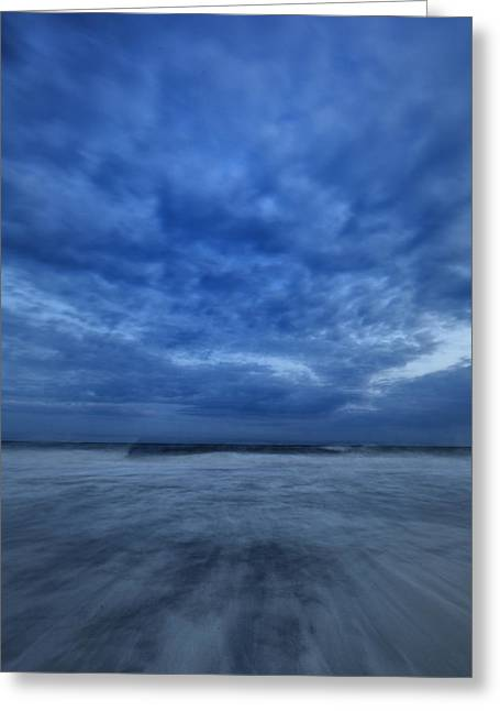York Beach Greeting Cards - Dusk On Fire Island Greeting Card by Rick Berk