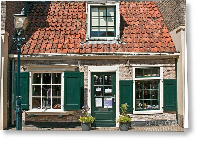 Historic Home Greeting Cards - Dutch Cottage Greeting Card by Jim Chamberlain