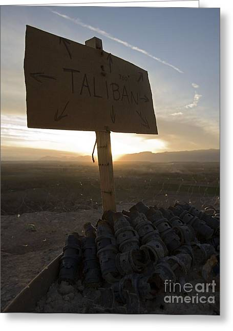 Taliban Greeting Cards - Dutch Island in Taliban Territory Greeting Card by Unknown
