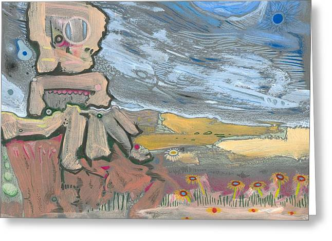 Valuable Greeting Cards - Dying in the Breeze Greeting Card by Ralf Schulze