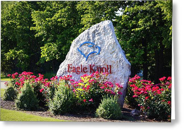 Southern Boone County Greeting Cards - Eagle Knoll Greeting Card by Cricket Hackmann