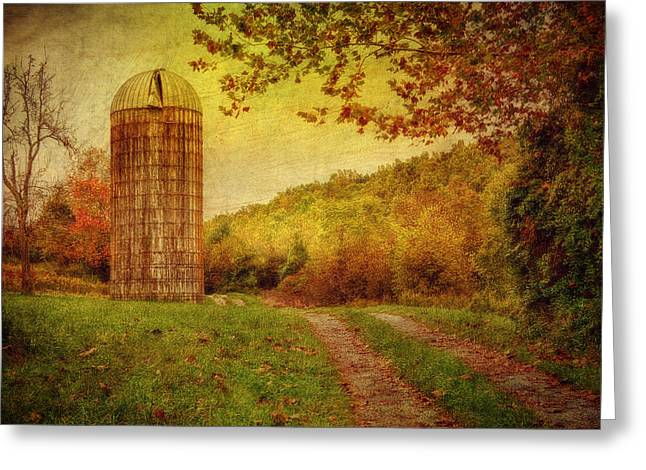 Early Autumn Greeting Card by Kathy Jennings