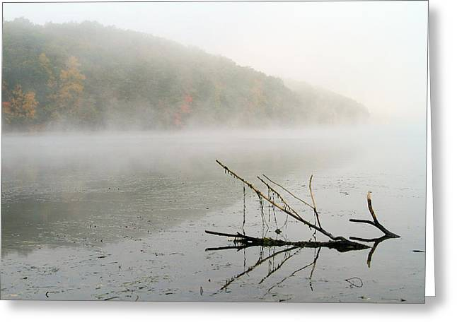 Early Autumn Morn Greeting Card by Karol Livote