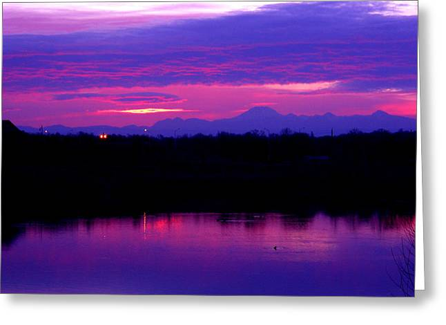 Subtle Colors Greeting Cards - Early Dawn Greeting Card by Robert  Hooper