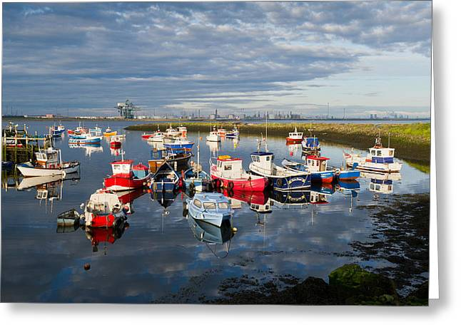 Port Holes Greeting Cards - Early morning Paddys Hole Greeting Card by Gary Eason