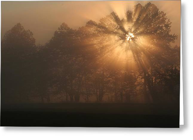 Ewing Greeting Cards - Early Morning Rays Greeting Card by Christopher Ewing