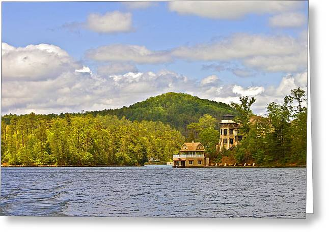 Susan Leggett Greeting Cards - Early Spring on the Lake Greeting Card by Susan Leggett