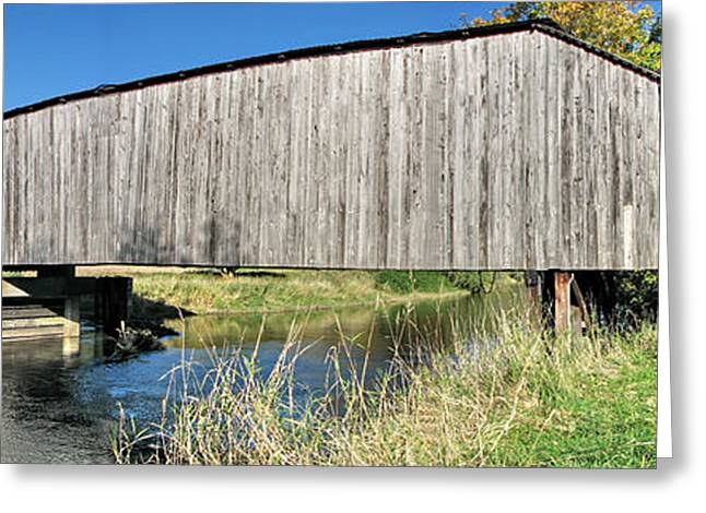 Covered Bridge Greeting Cards - Early Summer at  Grays River Covered Bridge Greeting Card by Ansel Price