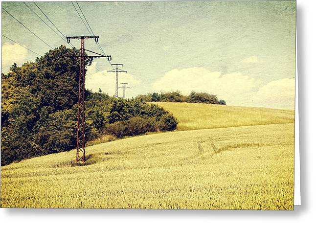 Transmission Greeting Cards - Early summer Greeting Card by Mandy Tabatt