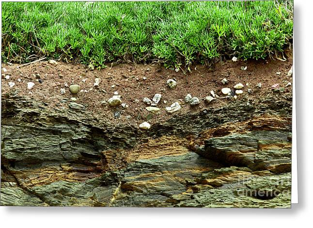 Earth Cross Section Greeting Card by Simon Bratt Photography LRPS