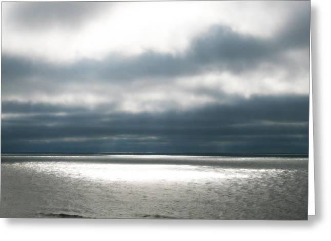 Beach Photos Greeting Cards - Ease Greeting Card by Jaison Cianelli