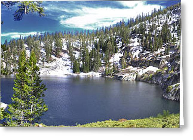 Angora Lakes Greeting Cards - East Angora Greeting Card by Geoffrey Hill