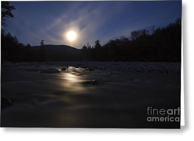 White River Scene Greeting Cards - East Branch of the Pemigewasset River - Lincoln New Hampshire  Greeting Card by Erin Paul Donovan