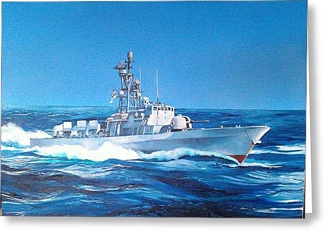 Strike Paintings Greeting Cards - East Coast days Greeting Card by Tim Johnson
