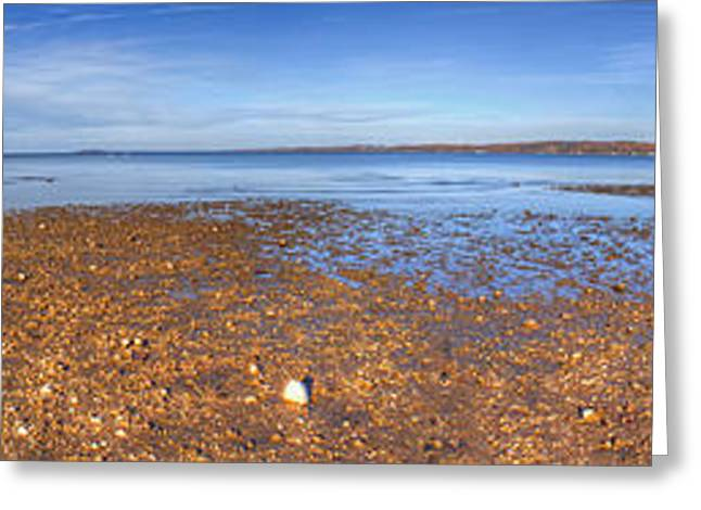 Traverse City Greeting Cards - East Grand Traverse Bay Greeting Card by Twenty Two North Photography