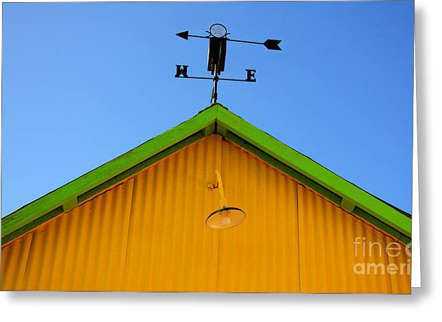 Weathervane Photographs Greeting Cards - East Of The Sun West Of The Moon Greeting Card by Bob Christopher