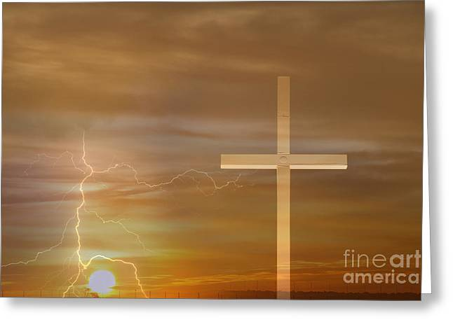 Easter Sunrise Greeting Card by James BO  Insogna