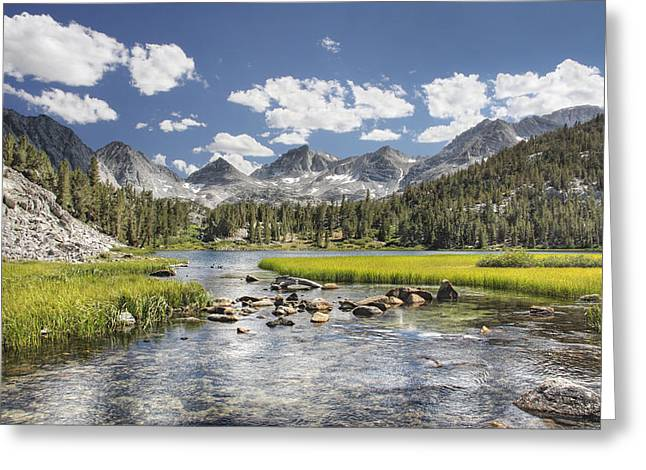 Heart Lake Greeting Cards - Eastern Sierra Greeting Card by Todd Young