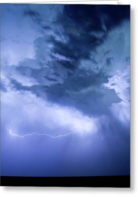 The Lightning Man Greeting Cards - Eastern Sky Greeting Card by James BO  Insogna