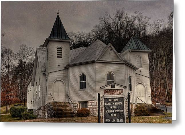 Ebenezer Arp Church Greeting Card by Todd Hostetter