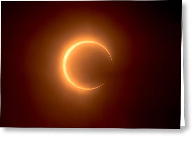 Solar Eclipse Greeting Cards - Eclipse Greeting Card by Greg Nyquist