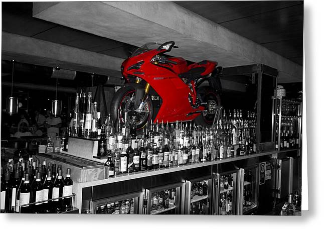 Superbikes Greeting Cards - Eden of the XY-Chromosome V2  Greeting Card by Douglas Barnard