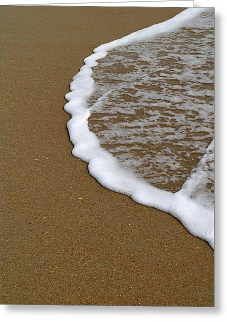 Terra Firma Greeting Cards - Edge of the Ocean Greeting Card by Jeremy Allen