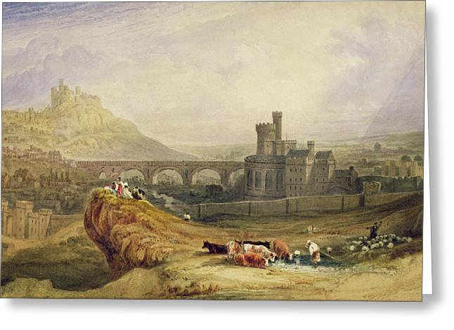 Middle Ages Greeting Cards - Edinburgh Greeting Card by Thomas Brabazon Aylmer