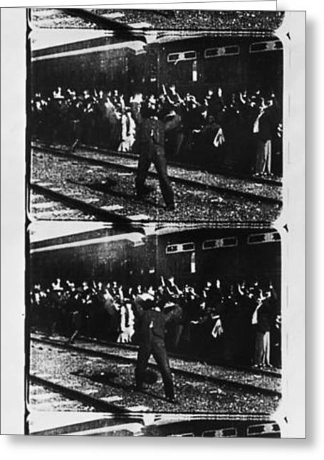 Edison Greeting Cards - Edison: Film Strip, 1903 Greeting Card by Granger