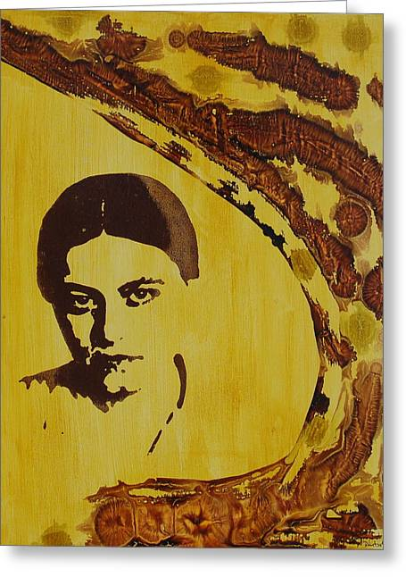 Recently Sold -  - Stein Greeting Cards - Edith Stein Greeting Card by Jonathan Deutsch