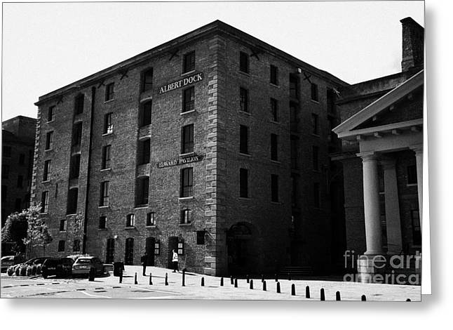 Renewing Photographs Greeting Cards - Edward Pavilion Former Warehouse Building At The Albert Dock Liverpool Merseyside England Uk Greeting Card by Joe Fox