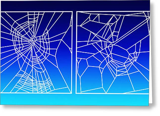 Narcotics Greeting Cards - Effect Of Drugs On Spiders Greeting Card by NASA  Science Source