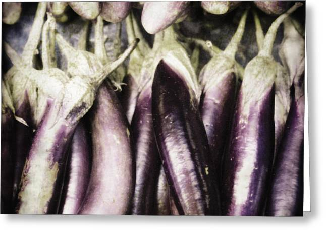 No Limits Greeting Cards - Egg Plant Greeting Card by Skip Nall