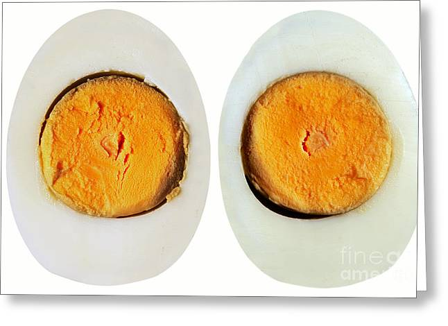 Nutriment Greeting Cards - Eggs Greeting Card by Michal Boubin