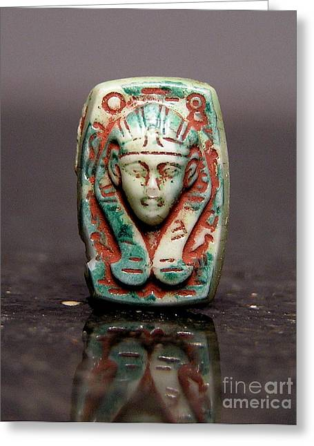 Egyptian 371 Greeting Card by Dwight Goss