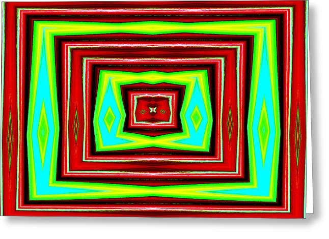 Abstract Style Greeting Cards - Eire No.1 Greeting Card by Danny Lally