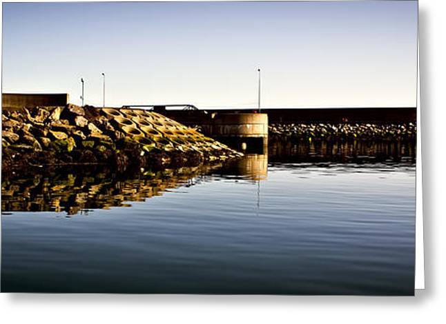 Cs5 Greeting Cards - Eisenhower Pier Greeting Card by Chris Cardwell