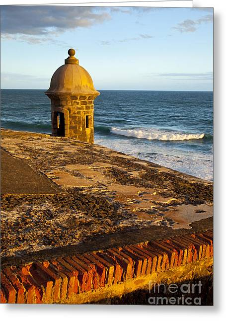 El Morro Greeting Cards - El Morro Fort San Juan Greeting Card by Brian Jannsen