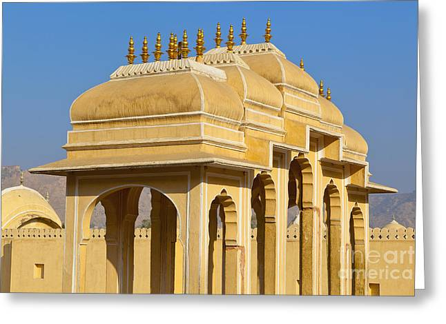 Elaborate Arch Structures In India Greeting Card by Inti St. Clair
