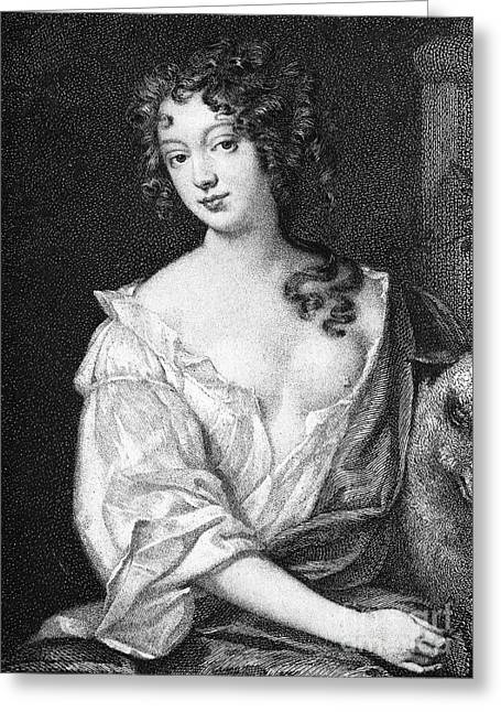 Ellenore Greeting Cards - Eleanor Gwyn (1650-1687) Greeting Card by Granger