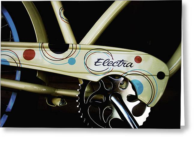 Vintage Bicycle Greeting Cards - Electra  Greeting Card by Ann Powell