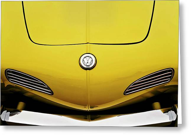 Nose Greeting Cards - Electric Karmann Greeting Card by Douglas Pittman